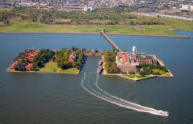 Ellis Island Ferry Route Fotos