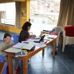 Vendredi 8 Octobre, après midi studieux à Cuzco….après une matinée de visites