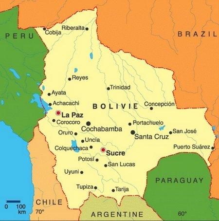 Bolivie carte2