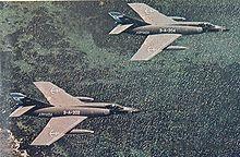 Argentine guerre des Malouines -Etendard en 1982