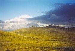 Argentine îles Malouines vue des Terres