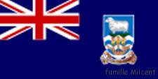 Argentine Malouines drapeau