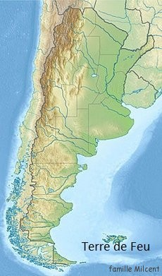 Chili carte terre de feu