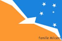 Chili drapeau terre de feu argentine