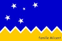 Chili drapeau terre de feu chili