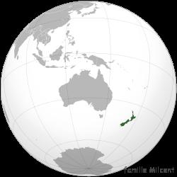 Nouvelle Zélande carte