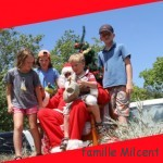 Le Père Noël à Moorea