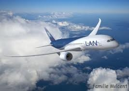 avion lan extérieur
