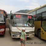 Se déplacer en Chine  - Lóngjĭ via Dehang à Zhāngjiājiè