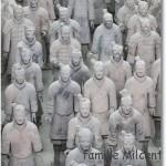 Xī'ān et son armée de soldats de terre cuite