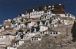 Ladakh le monastère de Tiksé
