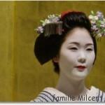 Kyōto, musée des arts traditionnels, spectacle de Maiko
