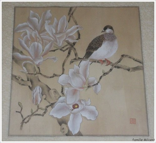 tableau magnolias