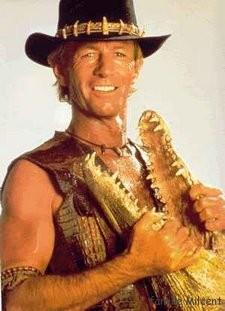 paul hogan as michael j crocodile dundee