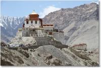 Leh, fête anniversaire de Bouddha, monastère de Temisgang